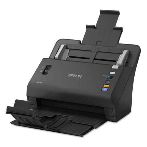 Epson - WorkForce DS-760, 600 x 600 dpi, Black B11B222202 (DMi EA powder for epson workforce m 400 mfp for epson al m400 dtn for epson workforce al 400 mfp brand new universal powder