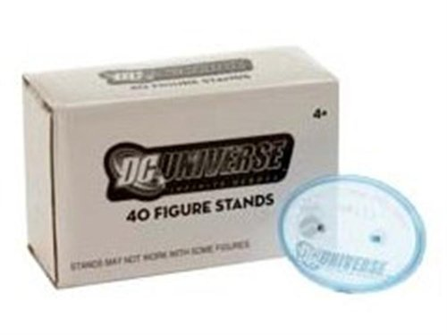 Buy Low Price Mattel DC Universe Infinite Heroes Action Figure Stands Pack of 40 (B003XNEAWK)