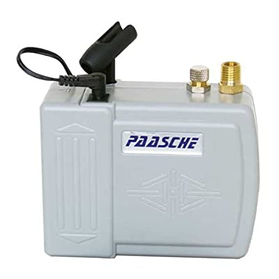 Paasche Airbrush DC200 Airbrush Makeup Compressor with Battery