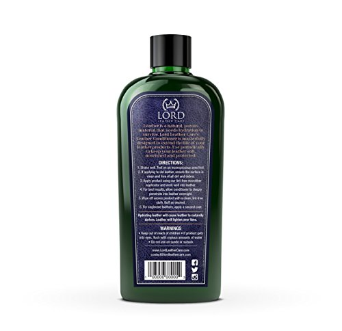 lord leather conditioner leather restorer and protectant for auto interiors luxury handbags. Black Bedroom Furniture Sets. Home Design Ideas