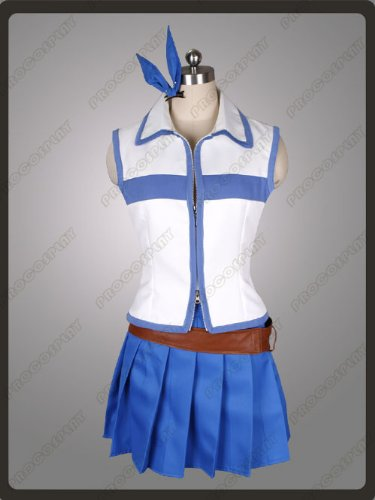 Best Deals! Fairy Tail Lucy Heartfilia Cosplay Costumes