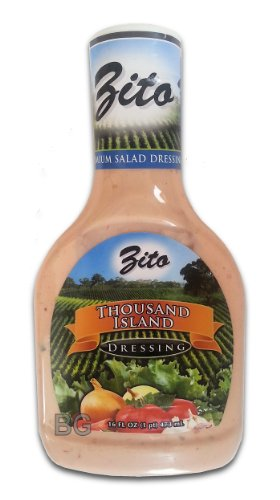 Thousand Island Dressing By Zito (2 Pack) 16 Fl Oz... Mtc