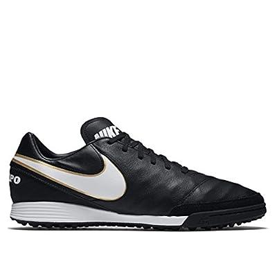 Nike Tiempo Mystic V Turf Shoes [BLACK/WHITE]
