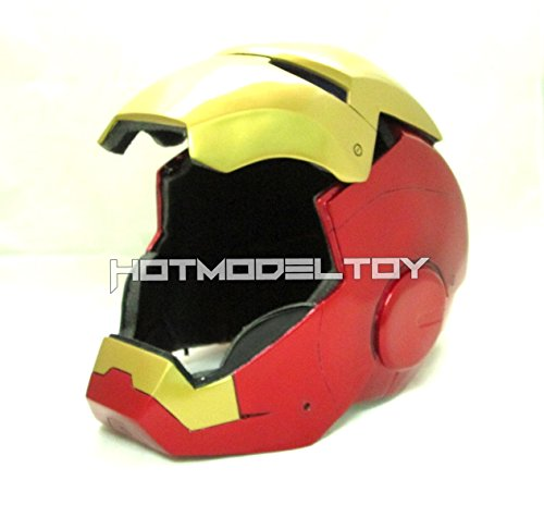 1/1 Iron Man Mark VII,III Opening Cosplay Helmet