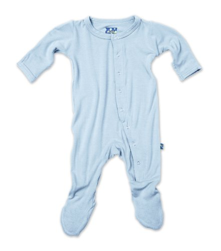 Kickee Pants Footie, Pond, 0-3 Months front-545382
