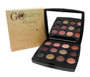 Coastal Scents Go Makeup Palette, Beijing, 0.28 Oz