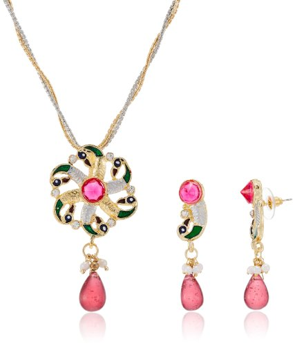 Sia Art Jewellery Set for Women (Multi-Color) (AZ668) (multicolor)
