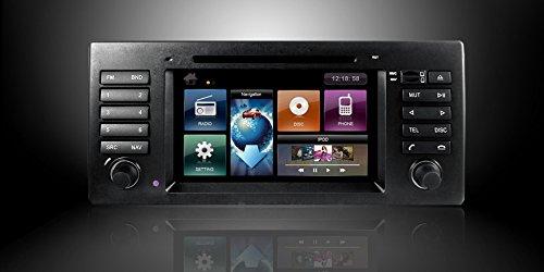 Ottonavi Bm960339-Dybmnaxx Bmw 97-03 E39/5 Series/M5 Multimedia In Dash Double Din Oem Replacement Car Radio