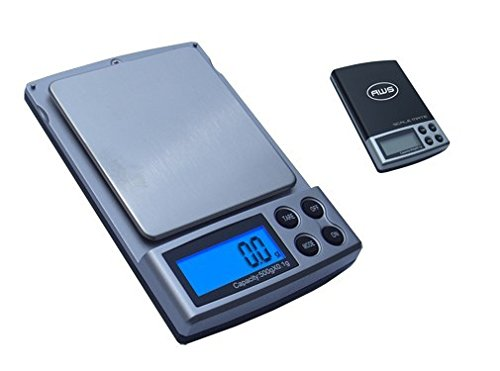 American Weigh Scale Scalemate Sm-500 Digital Pocket Scale, Black, 500 X 0.1 G