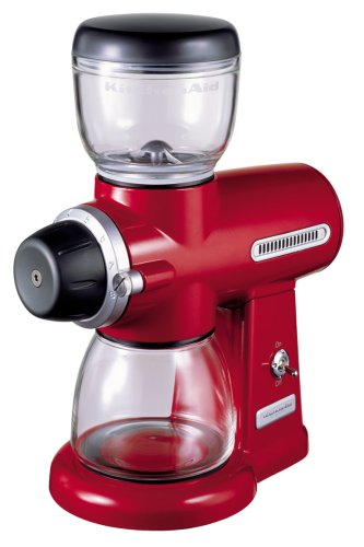 KitchenAid Artisan Burr Coffee Grinder Red