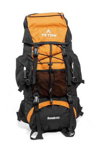 TETON Sports Scout3400 Internal Frame Backpack (Mecca Orange)