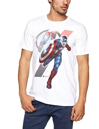 Bravado - T-Shirt - Homme - Blanc (White) - FR: X-Large (Taille fabricant: X-Large)