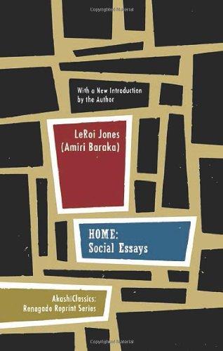 Home: Social Essays (Renegade Reprint Series)