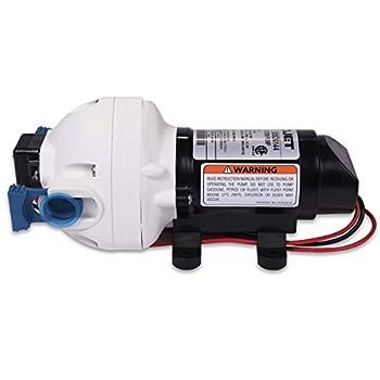 Flojet 03526-144A Triplex Diaphragm AutomaticWater System Pump, 2.9 GPM 50 PSI, 12 volt DC