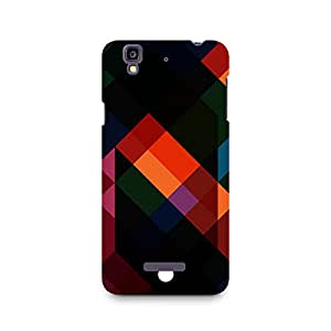 Ebby Colorful Abstract Art Premium Printed Case For Micromax YU Yureka A05510