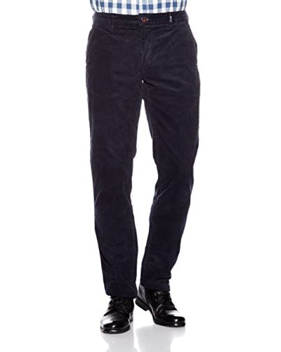 Nza New Zealand Auckland Pantalone Velluto a Coste [Blu Navy]