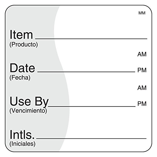 DayMark IT112475 MoveMark Use by Removable Label, 2
