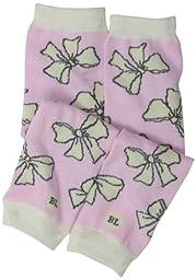 BabyLegs Baby-Girls Infant Sashes, Pink/White, One Size