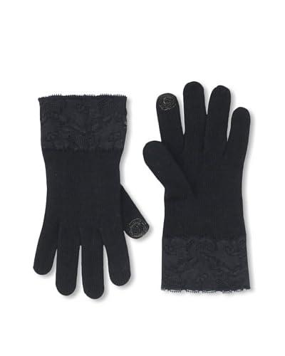 Portolano Women's Open Sesame Lace Tech Gloves