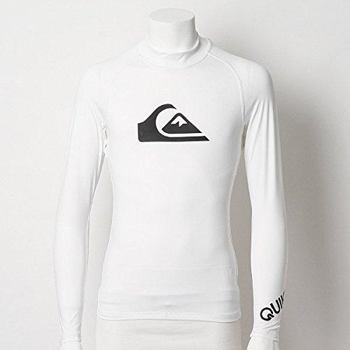 クイックシルバー(QUIKSILVER) ラッシュガード 長袖 かぶり ALL TIME LS【ホワイト035/M】