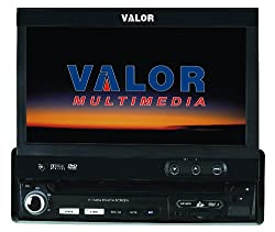 See Valor Multimedia SD-902W Single Din AM/FM/CD/DVD with 7-Inch Monitor Details