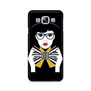 Mobicture Bowtie Girl Printed Phone Case for Samsung Grand 3 G7200