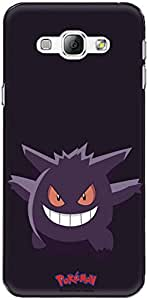 The Racoon Lean printed designer hard back mobile phone case cover for Samsung Galaxy A8. (gengar)