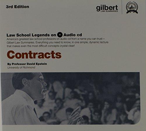 Law School Legends Audio on Contracts (Law School Legends Audio Series)