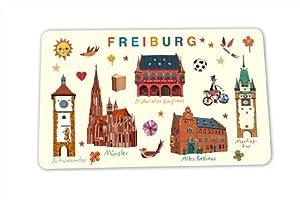 Freiburg Frühstücksbrettchen Selektion