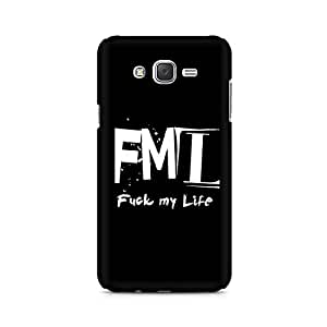 Motivatebox- FML Premium Printed Case For Samsung J2 -Matte Polycarbonate 3D Hard case Mobile Cell Phone Protective BACK CASE COVER. Hard Shockproof Scratch-
