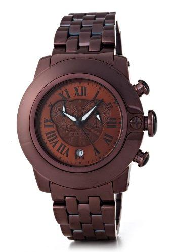 glam-rock-sb3019-sobe-montre-mixte-quartz-chronographe-cadran-noir-bracelet-acier-plaque-marron