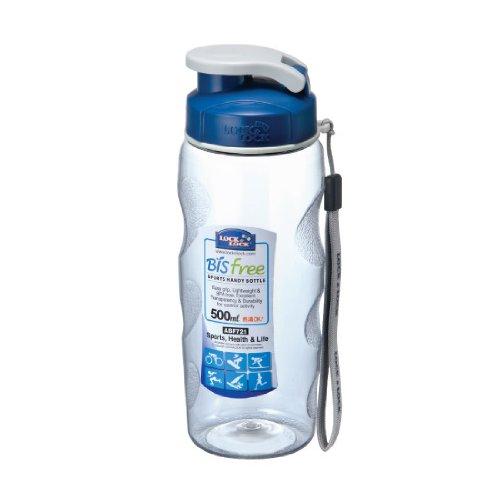 Lock&Lock 17-Fluid Ounce Bisfree Handy Sports Water Bottle, Tritan, 2-Cup (Locklock Bottle compare prices)