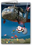 Army Blackhawk Christmas Card - Military 12 cards/ 13 envelopes