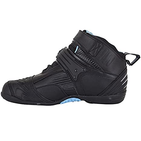 Black Compact WP bottes moto Spada