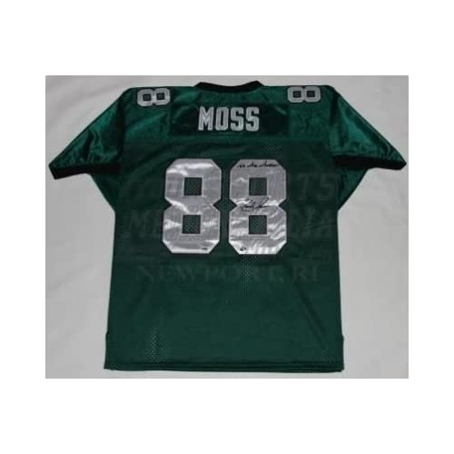 Randy Moss Signed Jersey - Marshall University San Francisco 49ers