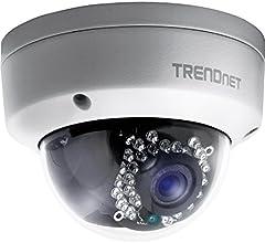 Trendnet TV-IP321PI Outdoor 1,3 MP HD PoE IR Kuppel-Netzwerkkamera weiß
