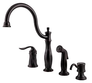 Pfister Cadenza 1-Handle Kitchen Faucet with Side