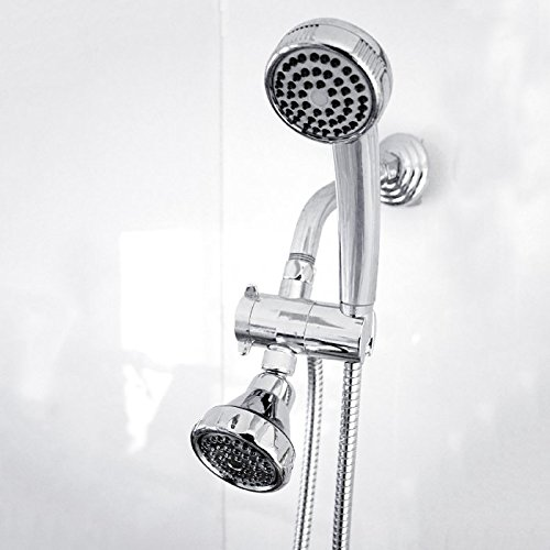 Lowest Price! Home Basics Shower Head and Massager Set