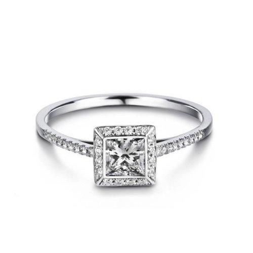 Cheap Princess Cut Wedding Rings 82 Lovely  Carat Princess Cut