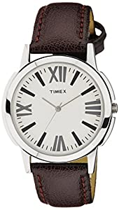 Timex Analog Silver Dial Men's Watch - TW002E101