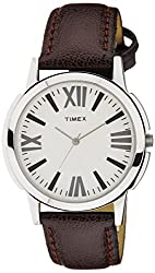 Timex Analog Silver Dial Men's Watch - TW002E101