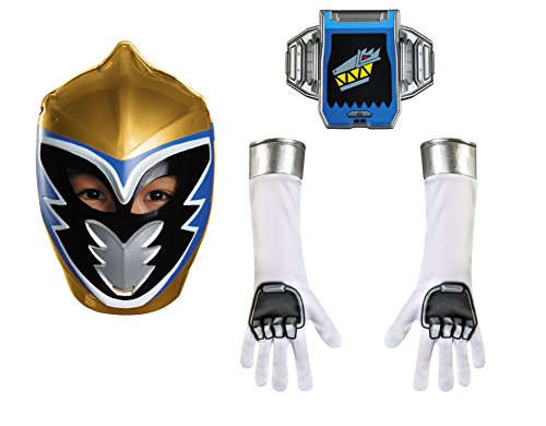 Disguise Gold Ranger Dino Charge Child Accessory Kit Costume (Golden Power Ranger compare prices)