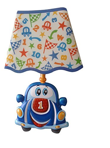 Children's Night Light Small Lamps Wall Sticker Kids Lamp Wireless Lamps Wall Décor Stickers Nursery Wall Decals Just Paste & Shine Removable Sticker Nursery Wall Decals Led Wall Lights 3D Race Car (Car Light Shine compare prices)