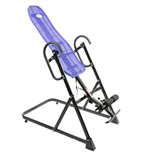 Buy ProSource Premium Gravity Back Therapy Fitness Exercise Inversion Table, Blue by ProSource