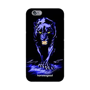 HomeSoGood Panther Cartoon Black 3D Mobile Case For iPhone 6 (Back Cover)