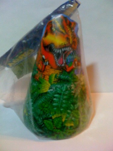 Dinosaur Party Hats 8 Count