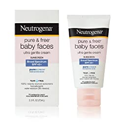Neutrogena Pure and Free Baby Sunblock, SPF 45+, 2.5 Ounce