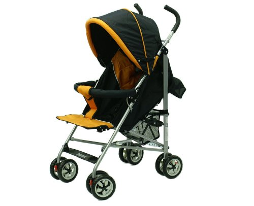 Dream On Me High Fashion Stroller with Ultra large Hood, Orange