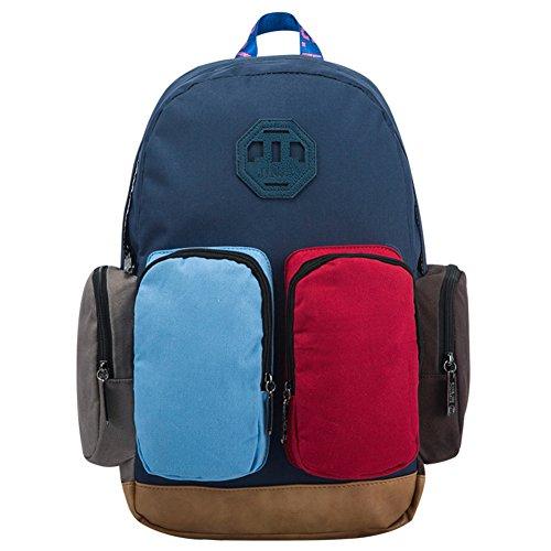 Sac de couleur/Les sacs de toile en vrac/Student Backpack