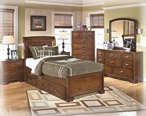Alea Brown Youth Bedroom Dresser